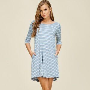 'New' Women's knitted summer dress. D5458-B